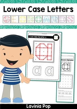 Geoboard Alphabet & Number BUNDLE