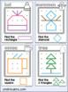 Geoboard Cards BUNDLE: Shape Activity for Pre-K Math (Growing Bundle)