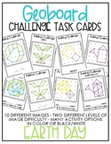 Geoboard Challenge Task Cards - Earth Day