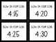 Geoboard Clock Task Cards