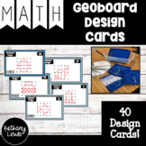 Geoboard Design Task Cards