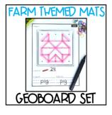 Geoboard Fine Motor Activities - FARM THEMED