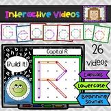 Geoboard Interactive Videos - Alphabet