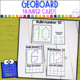 Geoboard Number Cards