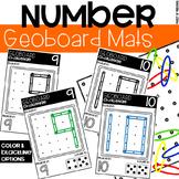 Geoboard Number Mats - Fine Motor Fun!