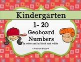 Geoboard Numbers 1-20