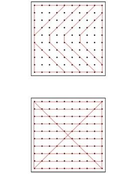Geoboard Patterns 11x11 *Large Version*