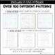Geoboard Patterns 5x5