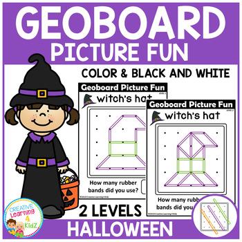 Geoboard Picture Fun: Halloween