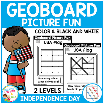 Geoboard Picture Fun: Independence Day