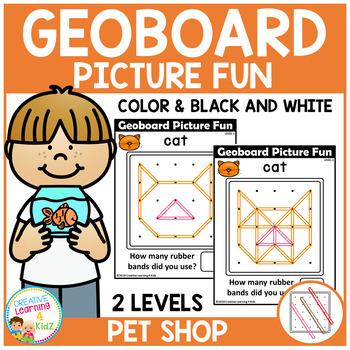 Geoboard Picture Fun: Pet Shop