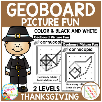 Geoboard Picture Fun: Thanksgiving