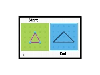 Geoboard Task Card Puzzles