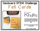Geoboard STEM Challenge Fall Cards