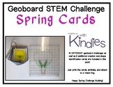 Geoboard STEM Challenge Spring Cards