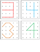 Geoboard Shapes and Numbers Task Cards