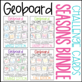 Geoboard Task Card Bundle - Seasons