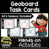 Geoboard Task Cards- All Four Seasons Task Cards