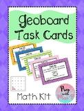 Geoboard Task Cards Kit