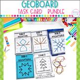 Geoboard Task Cards  Bundle