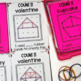 Geoboard Task Cards- Valentine Images