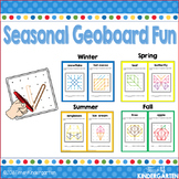 Geoboard Task Cards for All Seasons