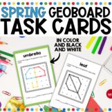 Geoboard Task Cards for Spring