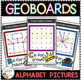 Geoboard Templates: Alphabet Pictures
