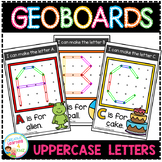 Geoboard Templates: Alphabet Uppercase