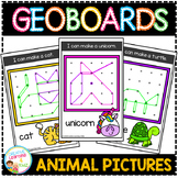 Geoboard Templates: Animal Pictures