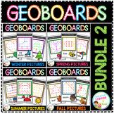 Geoboard Templates: Bundle 2 - Seasonal Pictures