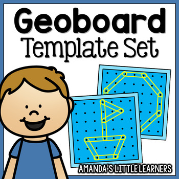 Geoboard Templates - Patterns, Pictures and Shapes