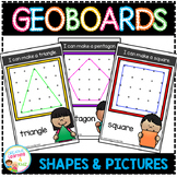 Geoboard Templates: Simple Shapes & Pictures
