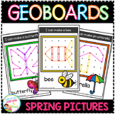 Geoboard Templates: Spring Pictures