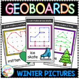 Geoboard Templates: Winter Pictures