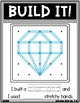 Geoboard Valentines Day Holiday Task Card Work It Build It Make It STEM Mats
