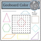 Geoboard and Shapes Colors (JB Design Clip Art for Persona