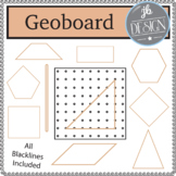 Geoboard and Shapes (JB Design Clip Art for Personal or Commercial Use)