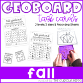 Geoboard fall task cards - Addition & Subtraction