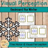 Fine Motor Geoboard the Winter