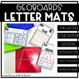 Geoboards Activities | Geoboards Letter Mats | Fine Motor