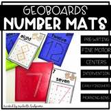 Geoboards Activities | Geoboards Number Mats | Fine Motor