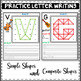 Geoboards Alphabet Activity Puzzle Mats ~  Making Letters out of Shapes