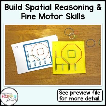 Geoboards Animals Task Cards