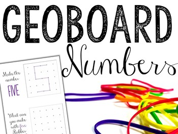 Geoboards - Building Numbers 1-20