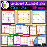 Geoboards Clipart Alphabet Pictures