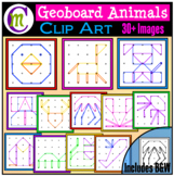 Geoboards Clipart Animals
