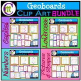 Geoboards Clipart BUNDLE  {Growing}