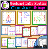 Geoboards Clipart Daily Routine