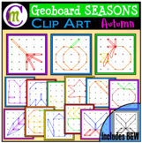 Geoboards Clipart SEASONS ~ Autumn